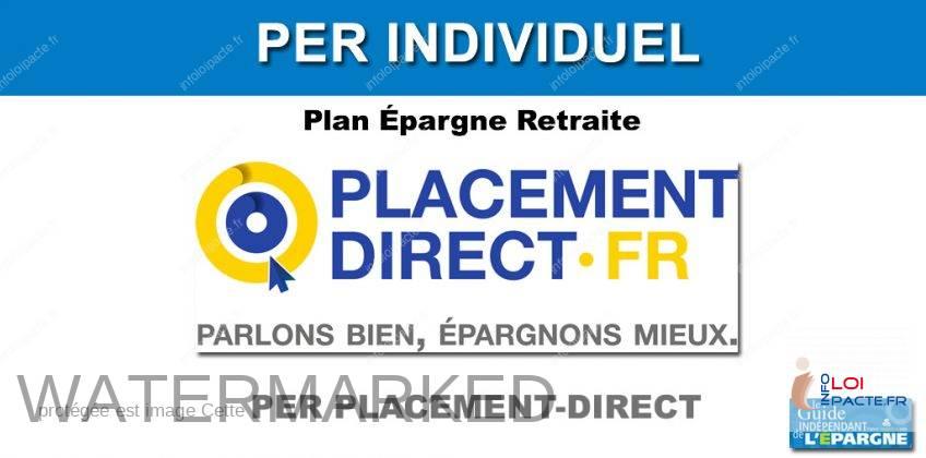 Épargne retraite : jusqu'à 400€ offerts pour un transfert vers le PER Placement-direct